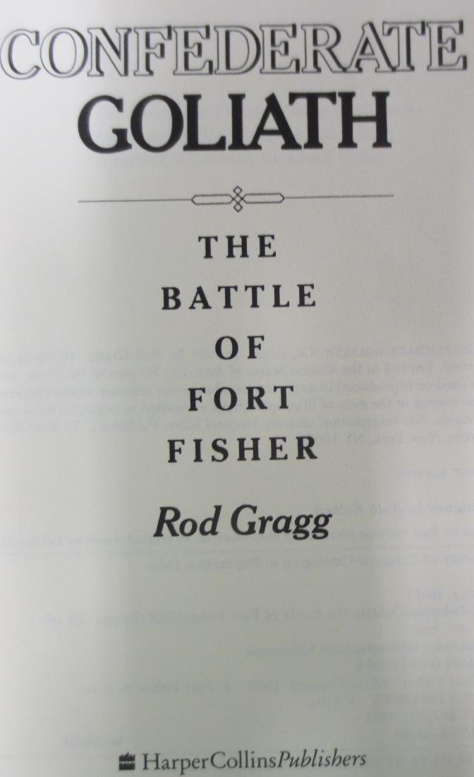 Confederate Goliath: The Battle of Fort Fisher Rod - 2