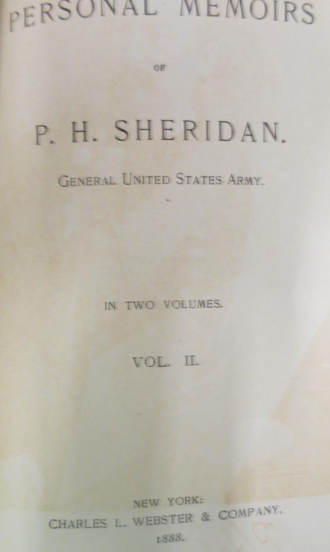 Personal Memoirs of P. H. Sheridan Vol. 2 P.H. Sheridan - 2