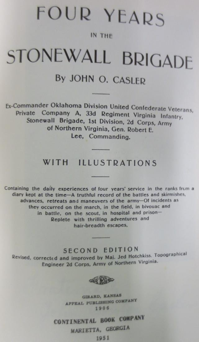 Four Years in the Stonewall Brigade John O. Casler - 2