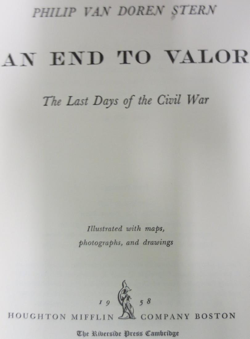 An End to Valor: The Last Days of the Civil War Philip - 2