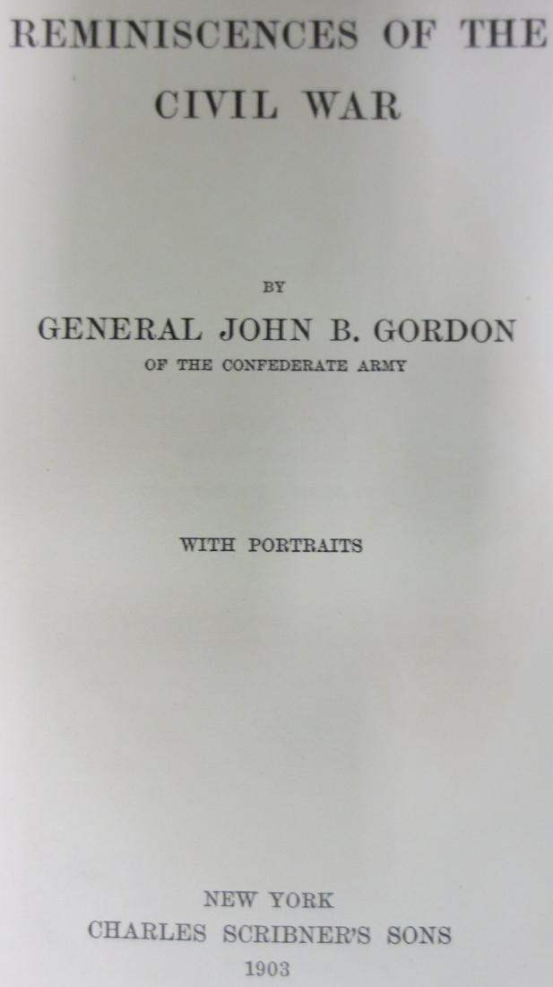 Reminiscences of the Civil War General John B. Gordon - 2