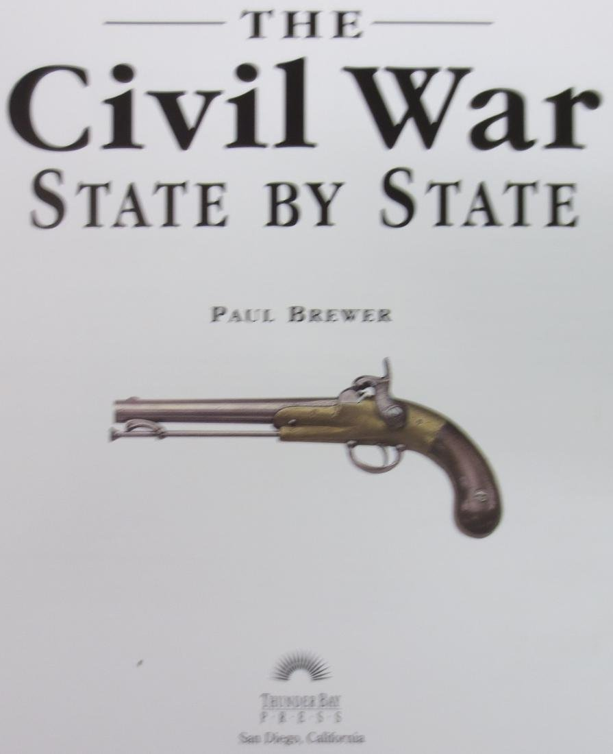 The Civil War State by State Paul Brewer - 2