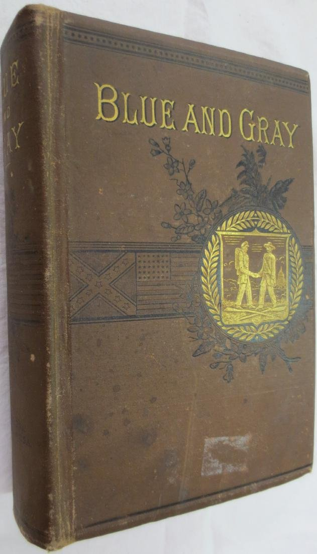 The Blue and the Gray (BROWN COVER) Theodore Gerrish
