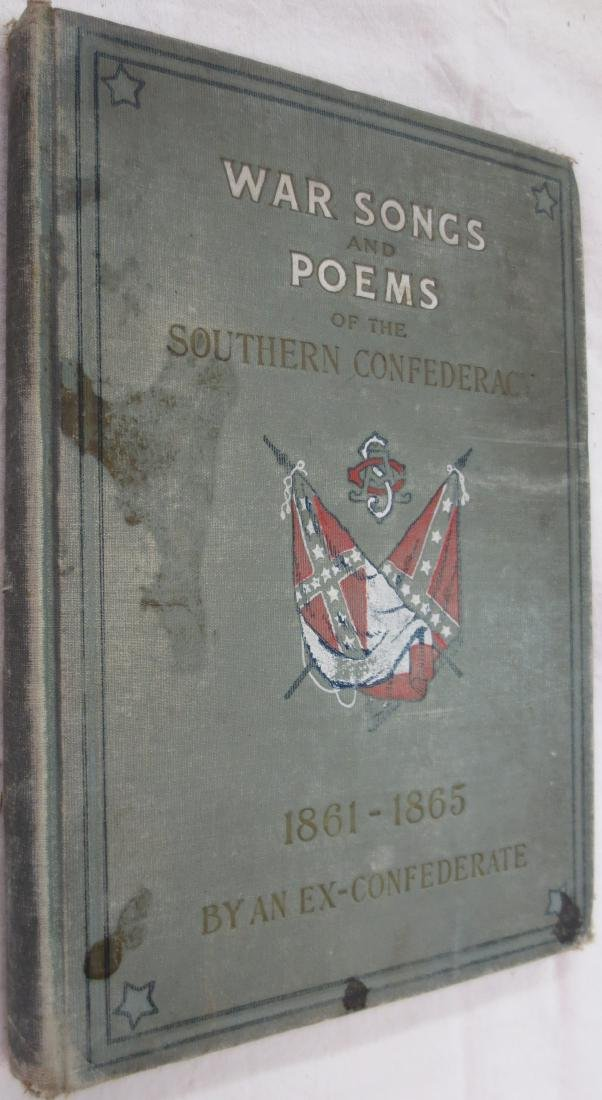 War Songs and Poems of the Southern Confederacy