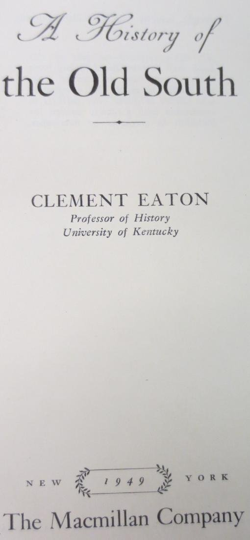 A History of the Old South Clement Eaton - 2