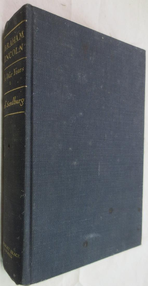 Abraham Lincoln the War Years Vol.1 Carl Sandburg