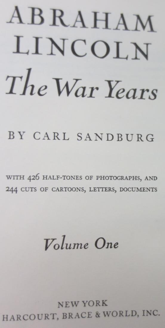 Abraham Lincoln the War Years Vol.1 Carl Sandburg - 2