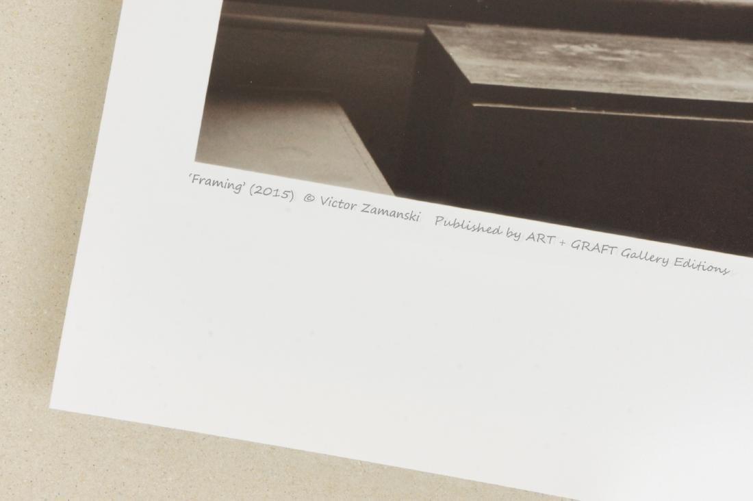 Victor Zamanski Print Framing - 4