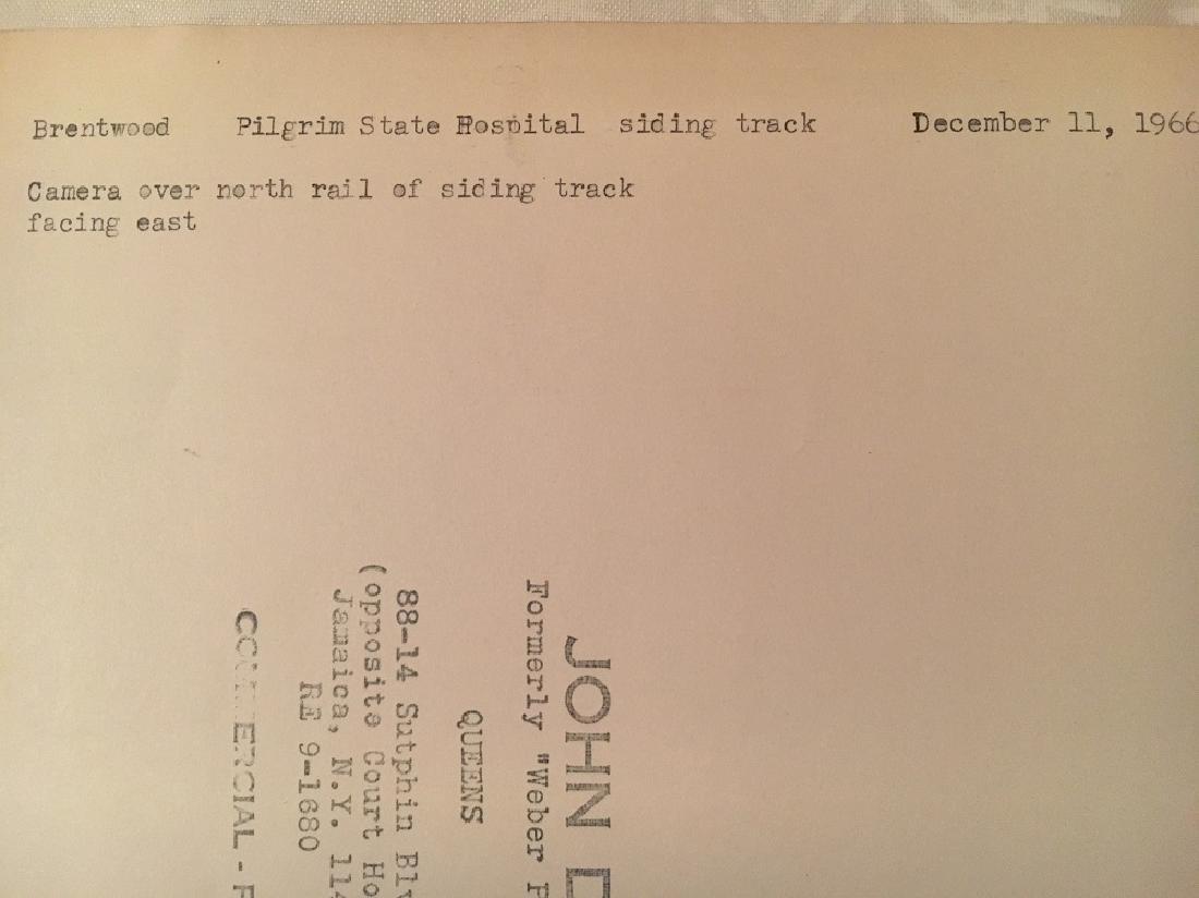 "1966 ""Brentwood Pilgrim State Hospital Siding Track"" - 4"