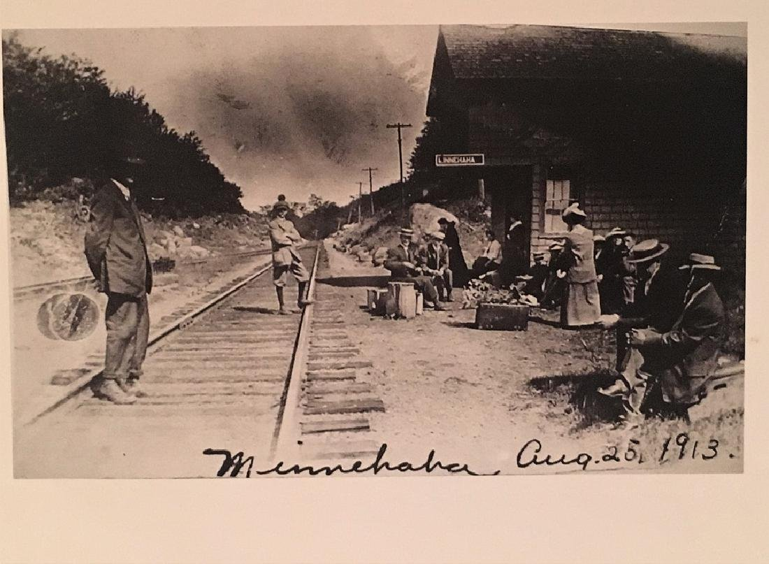 1913 Antique  Railway Photograph