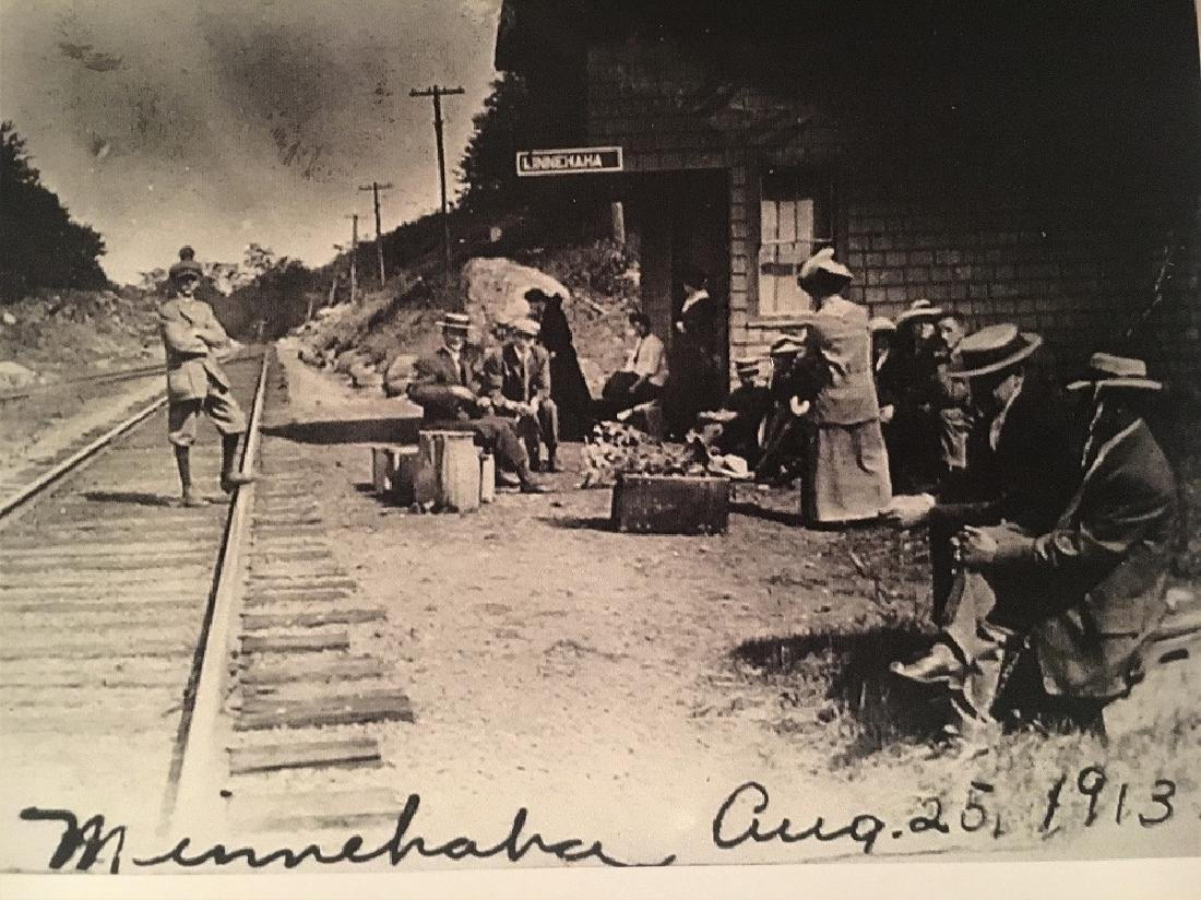 1913 Antique  Railway Photograph - 2