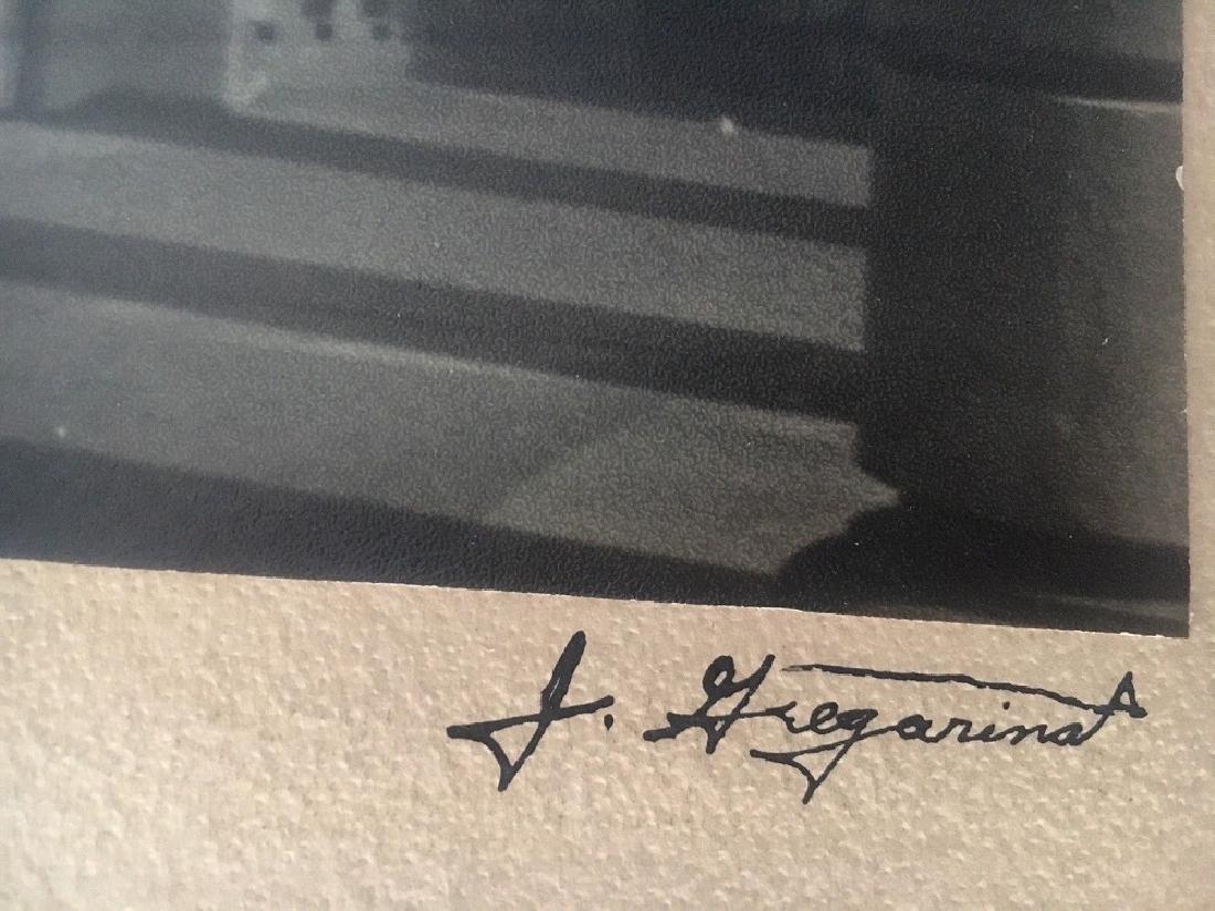 """Antique Original Photograph """"Shadows"""" Signed - 4"""
