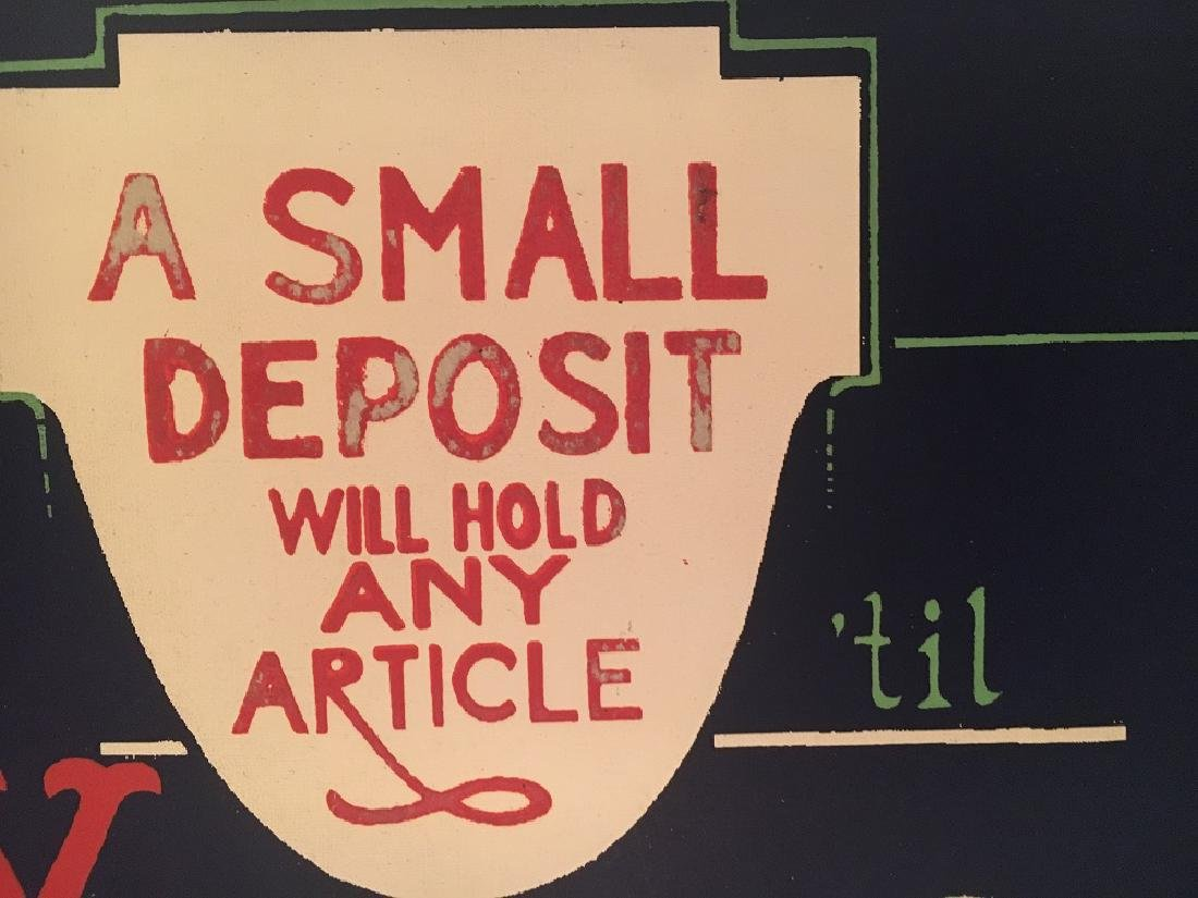 Vintage Department Store Display Sign from - 4