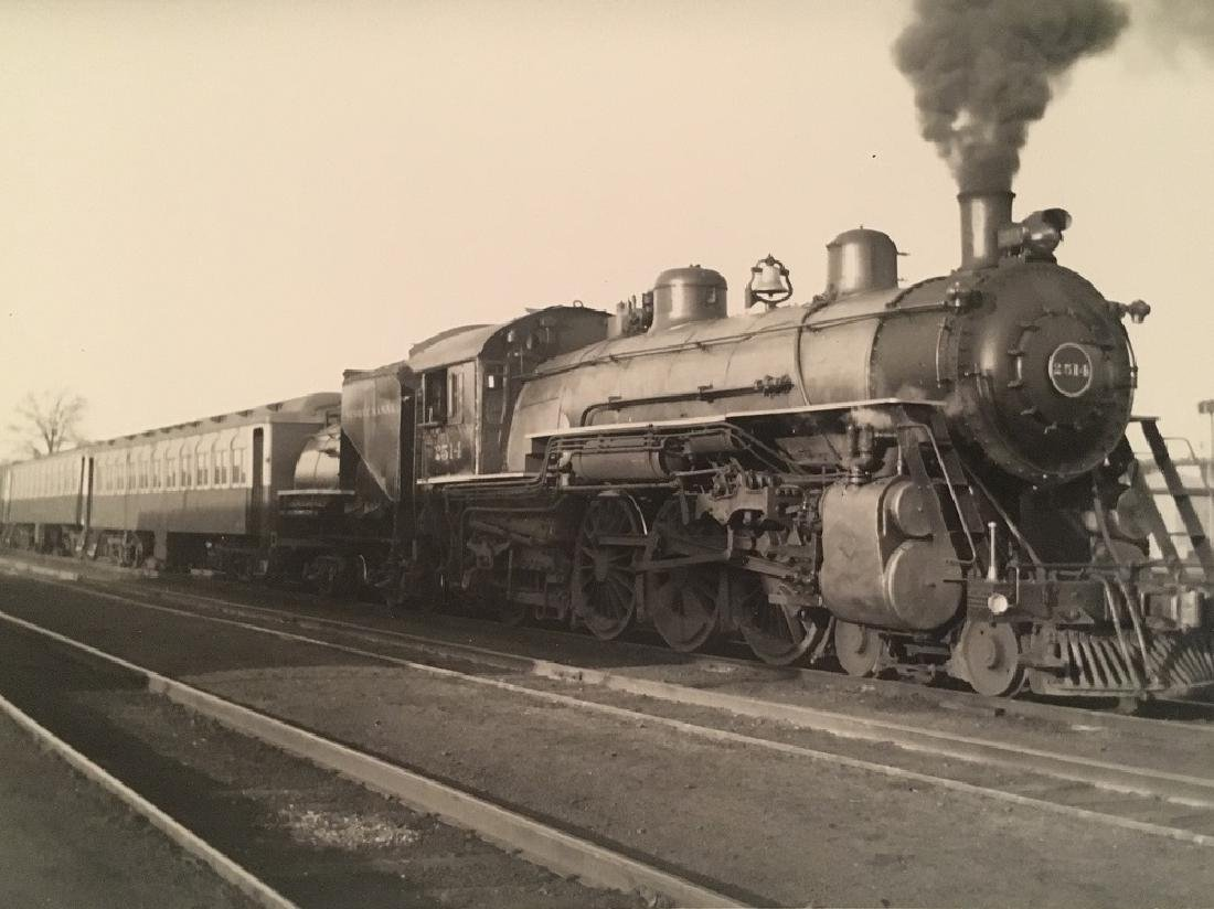 """1941 """" NY&W Eastbound at North Hawthorne""""#1753 - 2"""