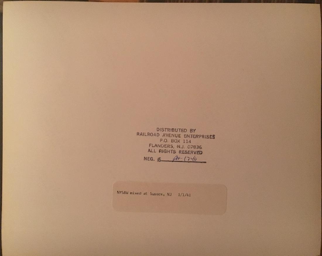 """1941 """" NY&W mixed at Sussex NJ """"#1740 - 3"""