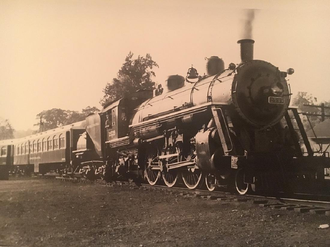 "1940 "" NY&W 4-6-2 at Butler, NJ ""#1754 - 2"