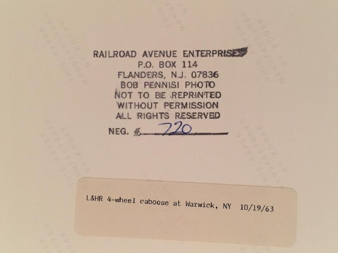 "1963 Original Railway Photograph ""L&HR, NY "" #720 - 3"