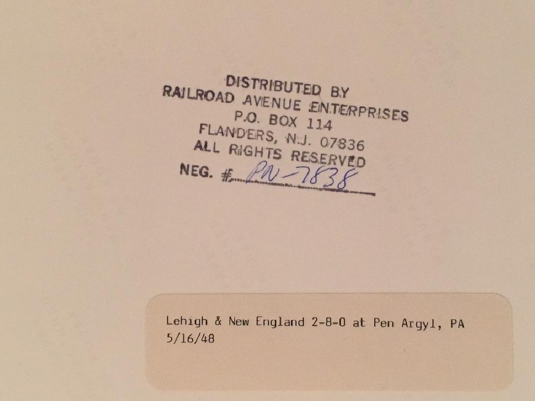 "1948 ""Lehigh & New England,PA"" #PN-7838 - 3"