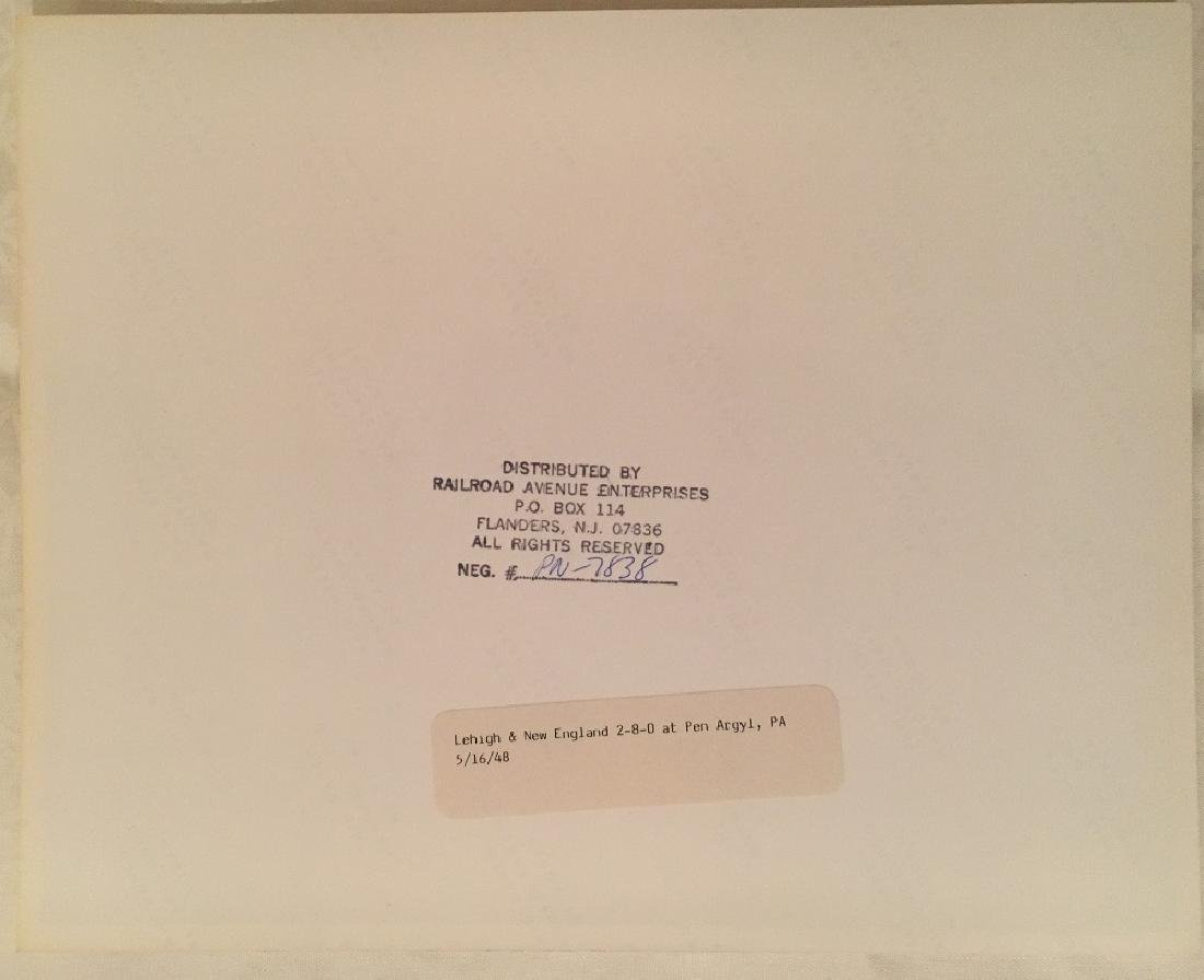"1948 ""Lehigh & New England,PA"" #PN-7838 - 4"