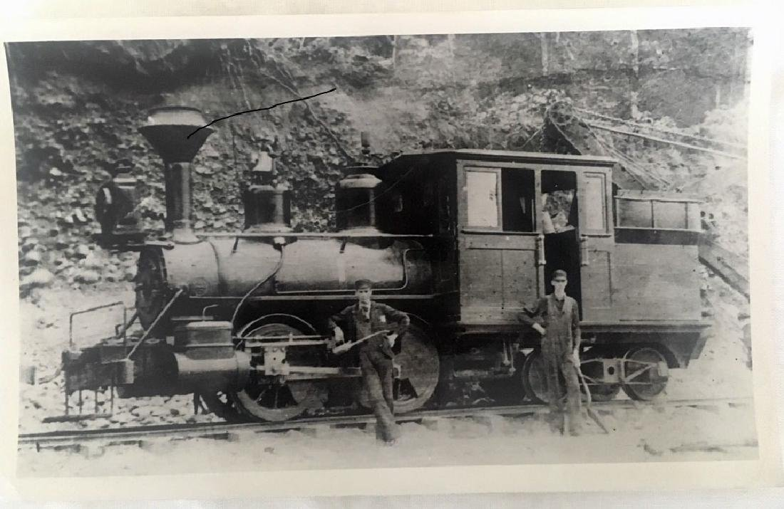 Antique 1905 Railroad Original Photograph
