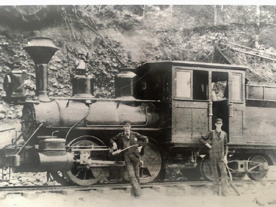 Antique 1905 Railroad Original Photograph - 2