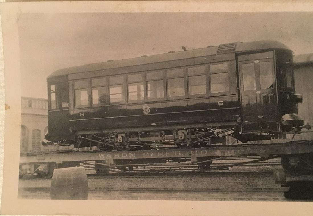 1914 No.6 Train for 32 Passengers, builder Wason Mg.