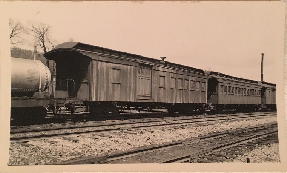 Antique Vintage Railway photograph