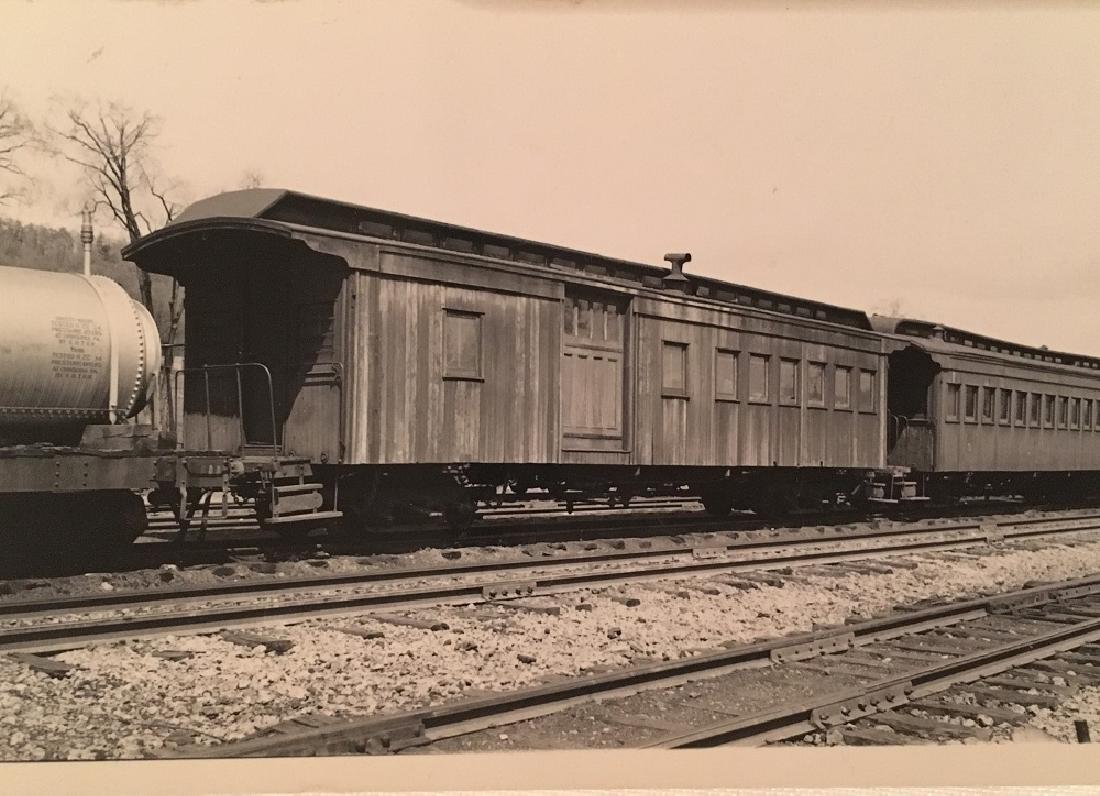 Antique Vintage Railway photograph - 2