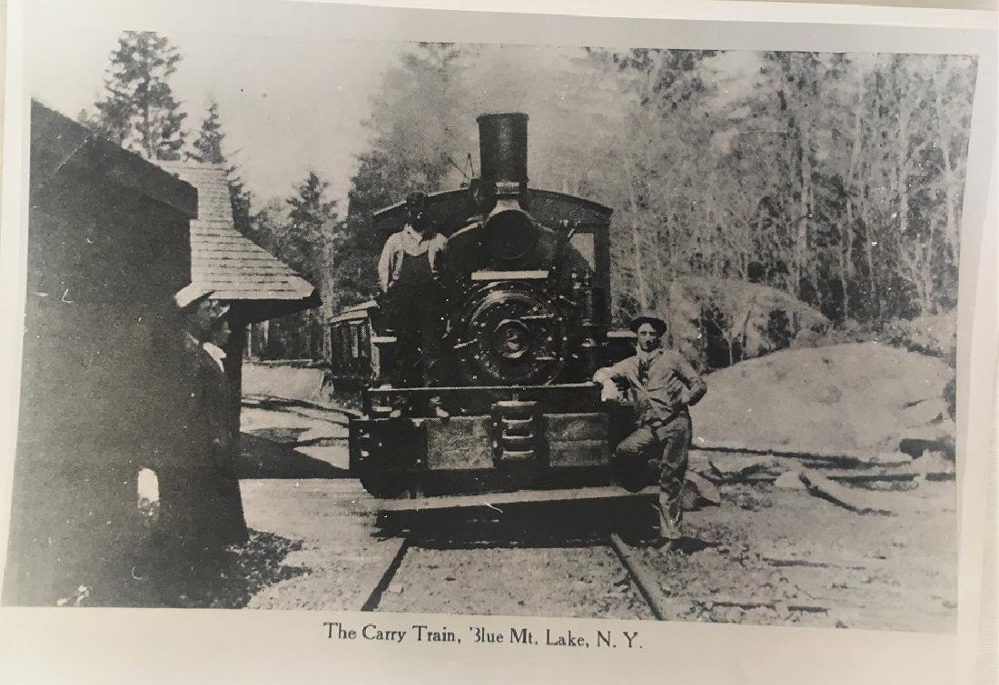 The Carry Train, Blue Mt. Lake, N.Y.