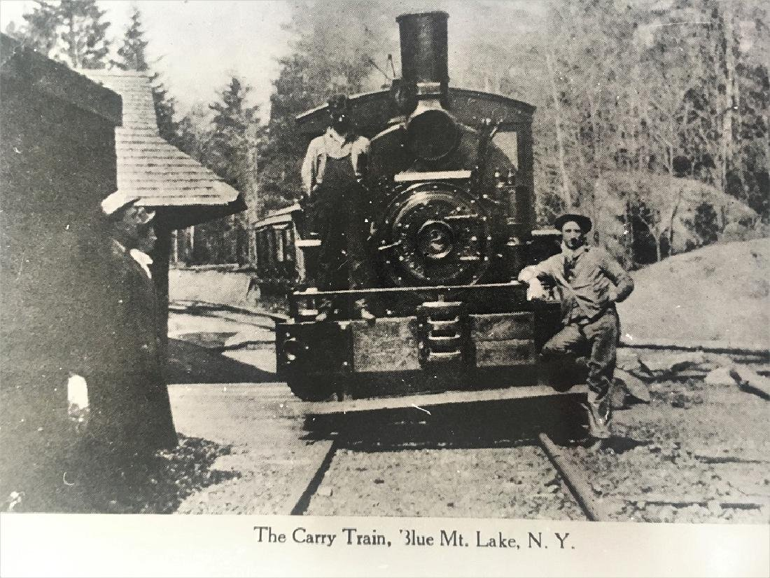 The Carry Train, Blue Mt. Lake, N.Y. - 2