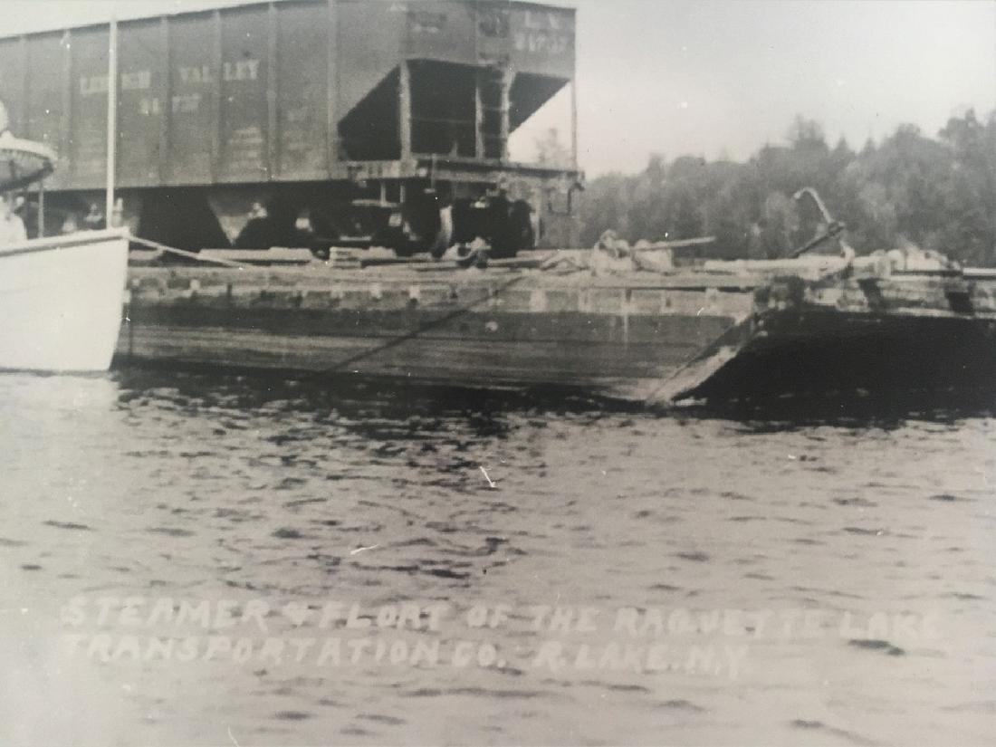 Antique Vintage Original Photograph-Steamer & Flort - 2