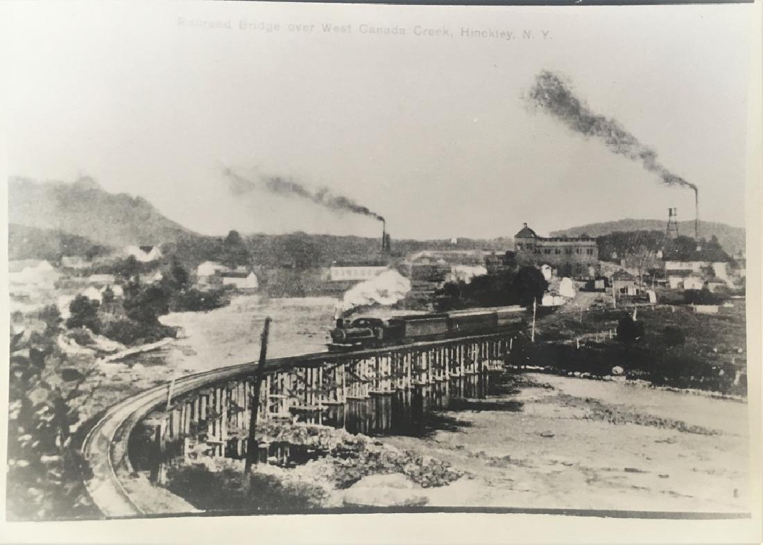 Railroad Bridge Over West Canada Creek, Hinckley, N.Y.