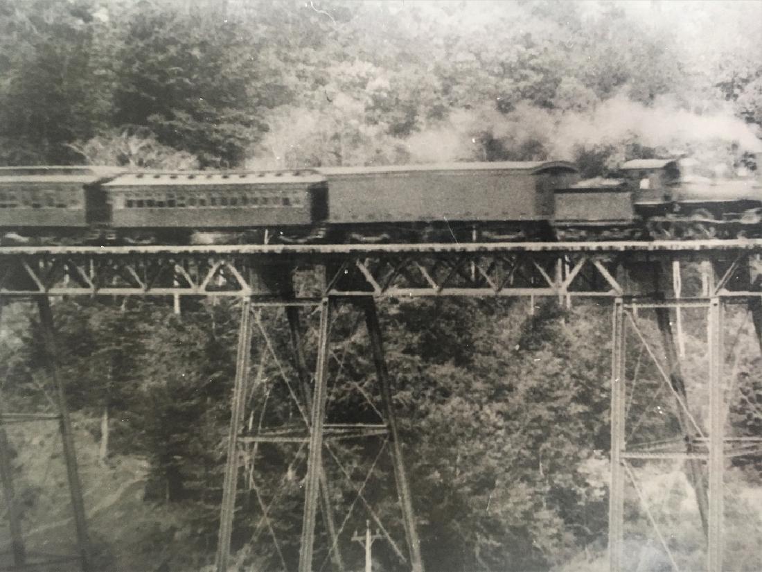 Vintage Original Railway Photography-Train through - 2