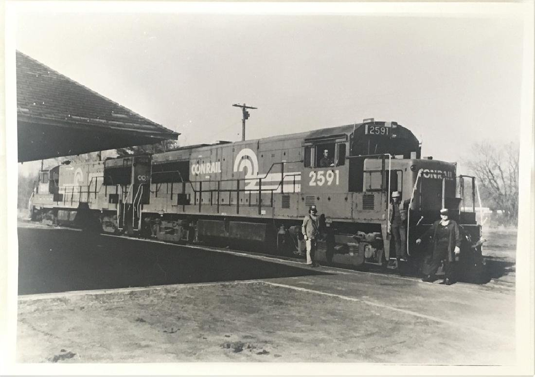 Vintage Original Railway Photograph-RONRAIL No. 2591