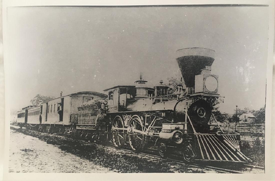 Vintage Original Railway Photography
