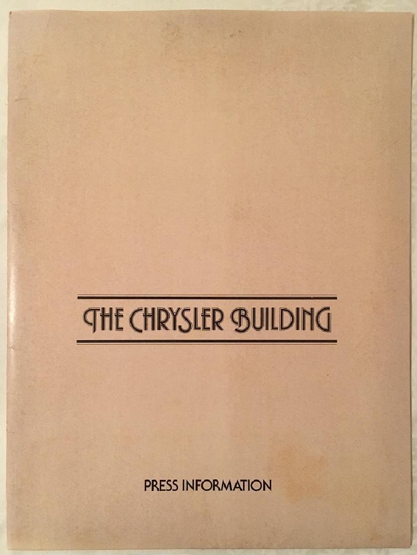 1978 The Chrysler Building Press Information