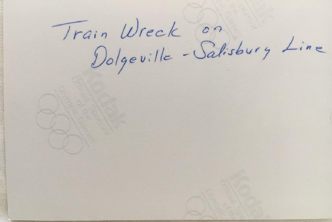Train Wreck on Dolgeville-Salisbury Line - 3