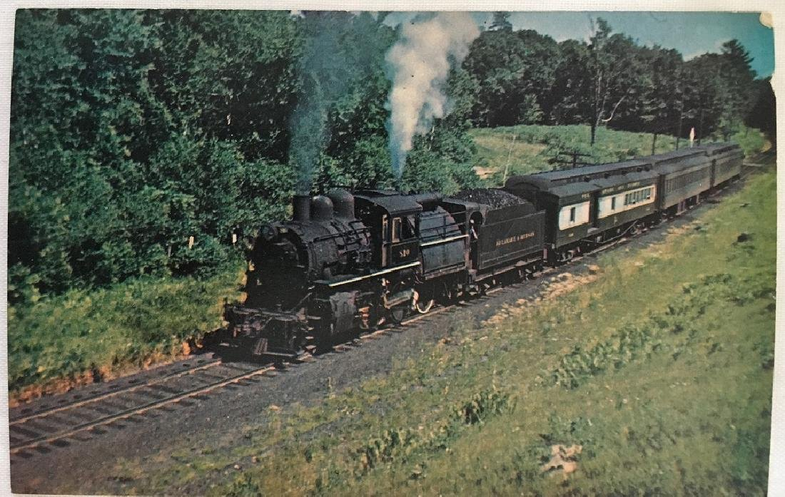 Delaware & Hudson 810 Camelback,NY Summer 1946