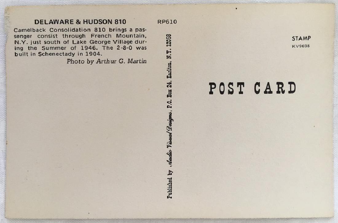 Delaware & Hudson 810 Camelback,NY Summer 1946 - 2