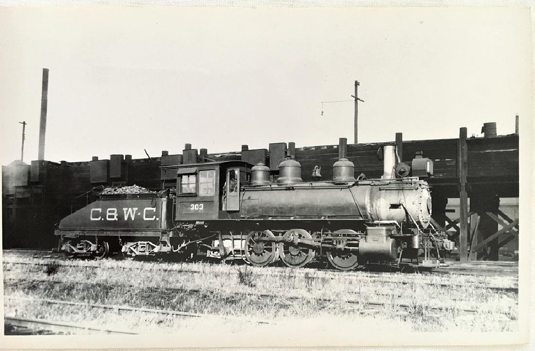 Railway Post Card C.8.W.C # 6777