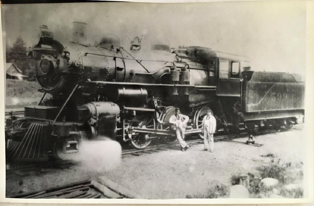 Antique Vintage Original Railway Photography--No.599