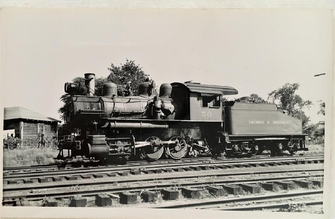 Railway Post Card-Columbus & Greenville No. 50 #12447