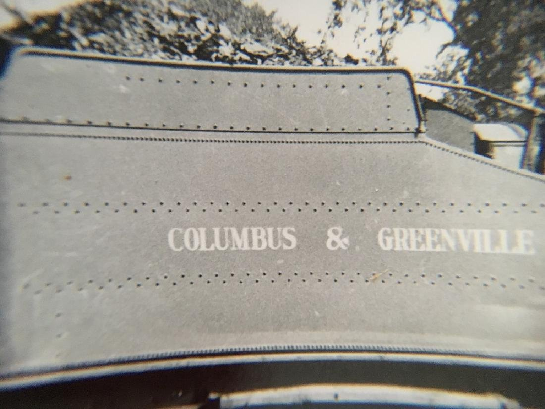 Railway Post Card-Columbus & Greenville No. 50 #12447 - 3