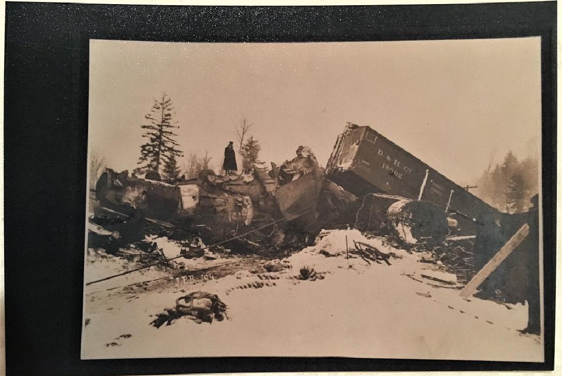 Antique Vintage Original Railway Photography--D & H