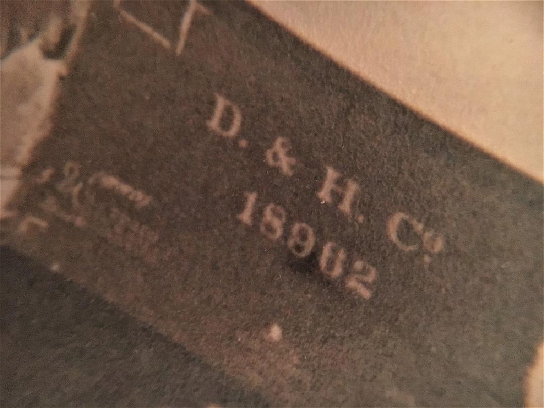 Antique Vintage Original Railway Photography--D & H - 2