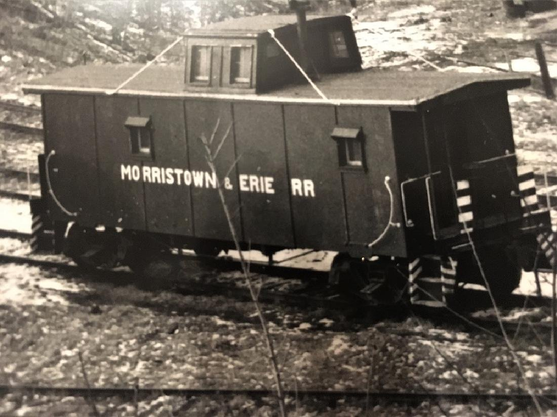 Morristown & Erie Caboose at Morristown, NJ - 2