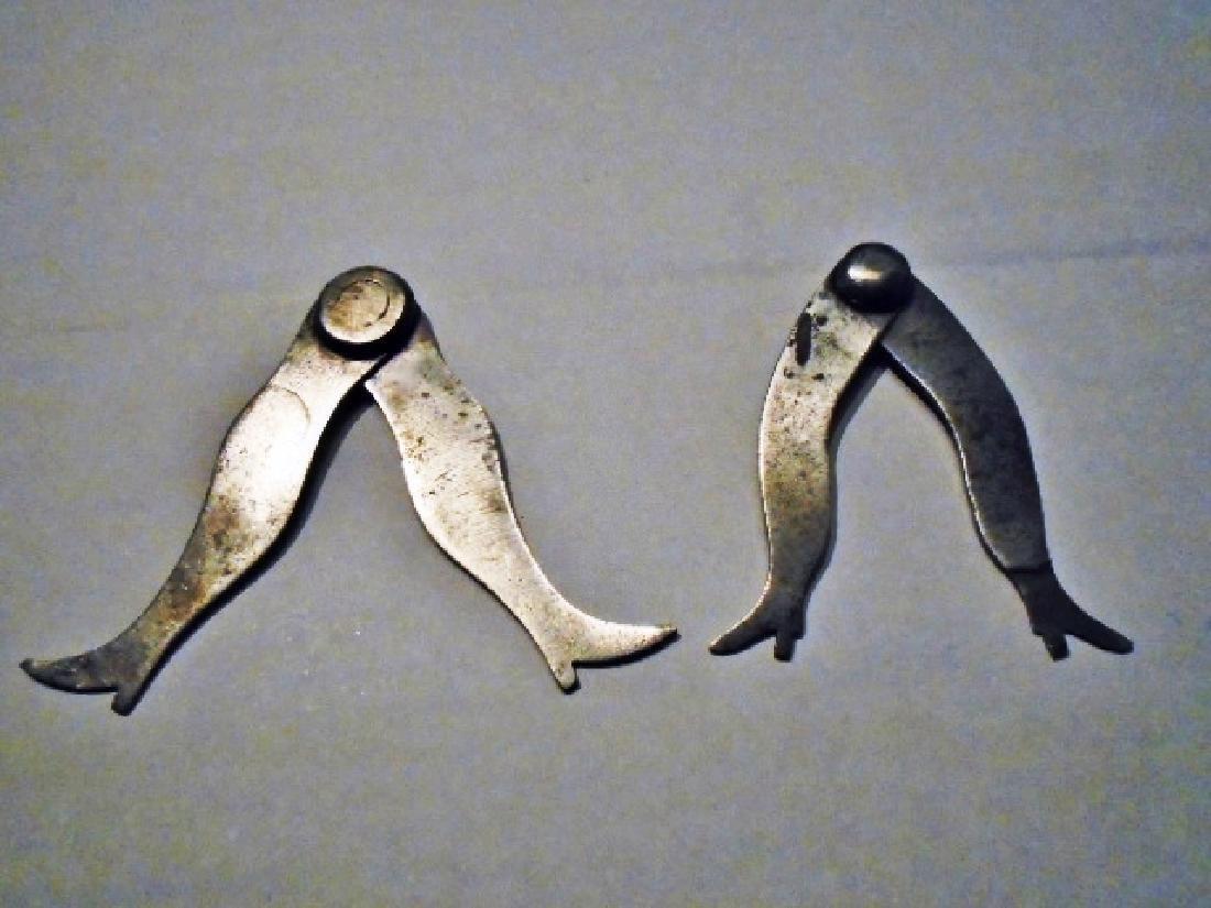 Metal Calipers in the Shape of Ladies Legs