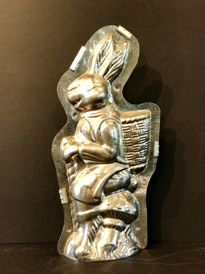 Rare Oversize Rabbit Chocolate Mold, C. 1930s - 3