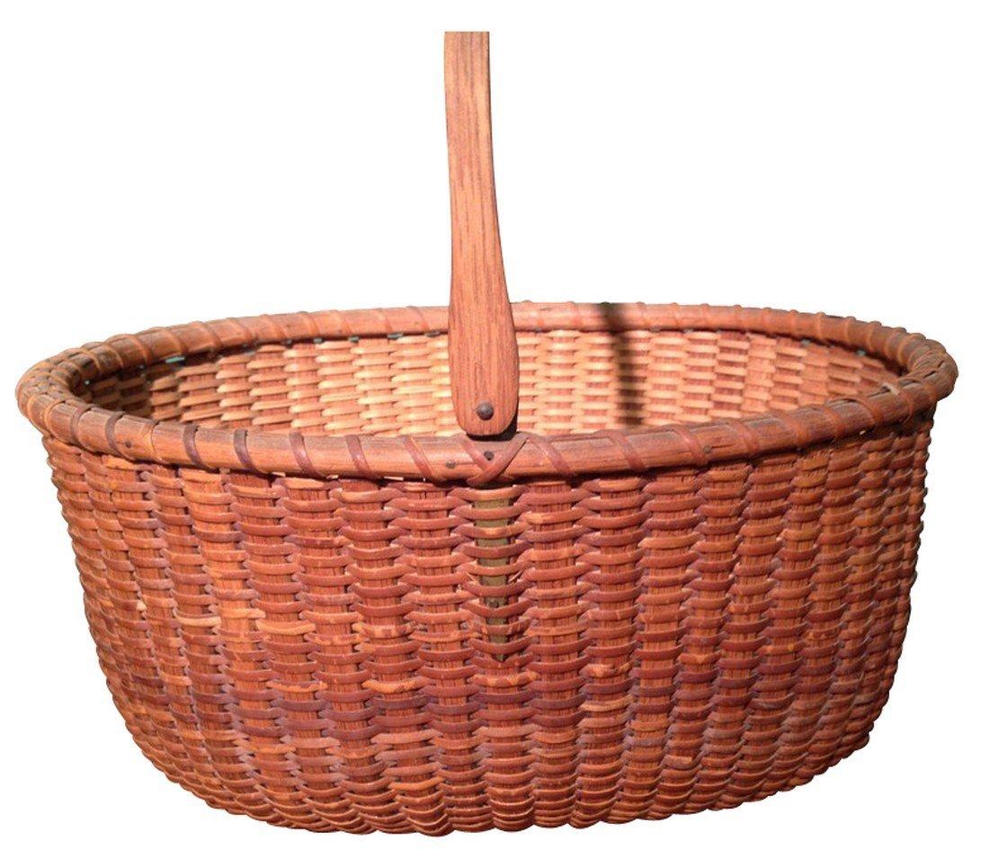Oval Nantucket Basket