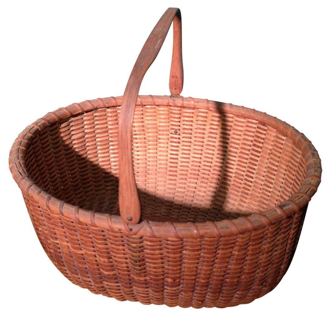 Oval Nantucket Basket - 2